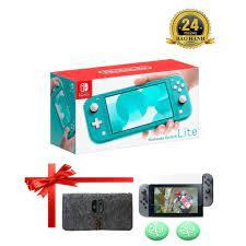 Máy Chơi Game Nintendo Switch Console Lite - Màu Xanh - Bảo Hành 12 Tháng