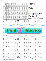 Counting By Sevens Chart 70 Fun Multiplication Worksheets Charts Flash Cards