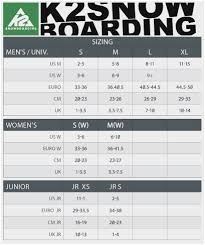 K2 Binding Size Chart Best Picture Of Chart Anyimage Org