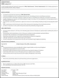Admin Assistant Resume Examples Download Office Assistant Resume