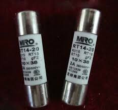 fuse tester picture more detailed picture about miro rt14 20 miro rt14 20 ro15 rt18 rt19 gf2 380v 500v 2a cartridge fuse size