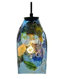recycled glass pendant light glass pendant light recycled glass blue recycled glass pendant light uk