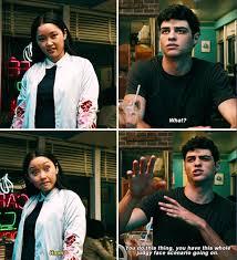 Who is noah centineo dating? Movie Noah Centineo And Lana Condor Noah Centineo Italia Facebook
