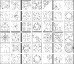 25+ unique Quilting stencils ideas on Pinterest | Hand quilting ... & The Quiltmakers Collection Vol 1 Printable Quilting Stencils Adamdwight.com
