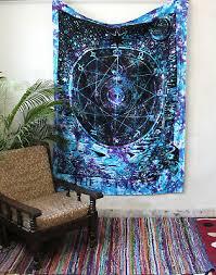 multi small wall hanging tarot tapestry