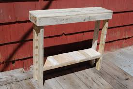 Pallet Entry Table New Ideas Entrance Way Tables With Diy Pallet Side Table And