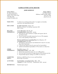 Entry Level Accountant Resume Entry Level Accountant Resume Accounting Efficient Photoshot 17