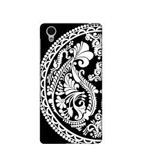 Vivo Y51l Back Cover Designer Sale Amazon Amazon Brand Solimo Designer Half Circle Rangoli 3d