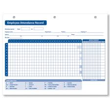 Sample Attendance Tracking Impressive Employee Attendance Records Charlotte Clergy Coalition