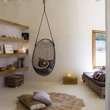 ... Hammock Bedroom Swing Chair For Hanging Rattan Egg Chair | Gaenice With  How To Hang A ...