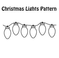 Print Coloring Page And Book Christmas Lights Coloring Page For