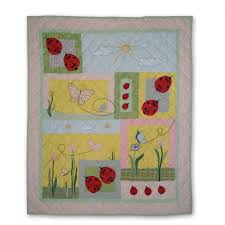 35 best alison - look at the ladybug quilts images on Pinterest ... & Patch Magic Ladybug Throw Quilt - THLADY Adamdwight.com
