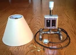 steampunk pipe lamp steampunk lamp socket medium size of lampblack iron pipe lamp black iron pipe