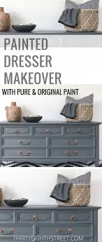 How To Paint Wood Furniture With Pure & Original Paint