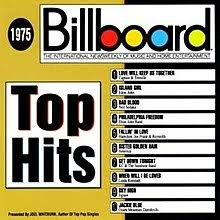 Billboard Charts April 1975 Billboard Top Hits 1975 Wikipedia