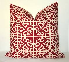 red decorative pillows design  the latest home decor ideas