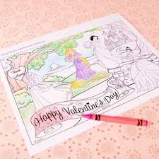disney valentines day coloring pages. Beautiful Valentines On Disney Valentines Day Coloring Pages A