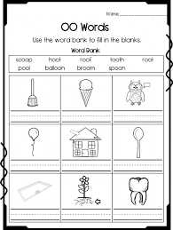 Long vowel worksheets spelling worksheets handwriting worksheets vocabulary worksheets preschool worksheets phonics lessons winter math and literacy pack. Oo Sound Activity