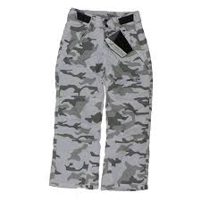 Arctix Snow Pants Youth Size Chart Arctix Reinforced Youth Ski Snowboard Pant Snow Camo Boys Size