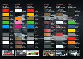 3m Vinyl Wrap Color Chart 27 Disclosed Avery Vinyl Color Chart