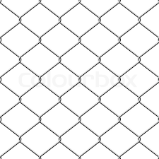 chain link fence vector. Realistic Wire Chain-link Fence Seamless Vector Background, Chain Link L