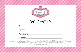 full size of fill in gift certificate template the sts of life and s sting supplies