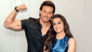 shraddha kapoor and tiger shroff share