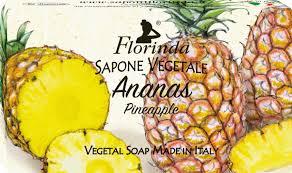 "FLORINDA <b>мыло</b> ""Ароматы Тропиков"" Ananas / Ананас 100 g"
