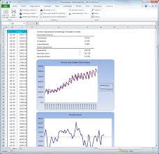 forecast model in excel stattools forecasting and statistical analysis software for excel