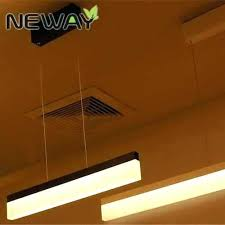 suspended ceiling lighting options. Modern Drop Ceiling Lighting Suspension Lights Design Led Office Linear Pendant Suspended Options I