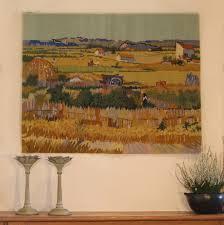 irises monet cyclamen the harvest van gogh