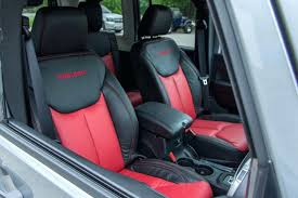 seat covers unlimited reviews two tone red and black seat covers with embroidered ducks unlimited seat