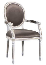 Casa Padrino Luxus Barock Esszimmerstuhl Mit Armlehnen Weiß