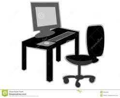 office desk with chair clipart. Delighful Desk Clipart Desk Chair With Office Desk Chair Clipart H
