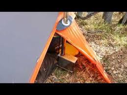 stove jack for nylon tent. kuiu summit refuge shelter - stove jack prototyping part 2 for nylon tent o