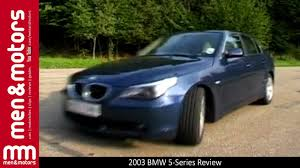 BMW 5 Series bmw 5 series review 2004 : 2003 BMW 5-Series Review - YouTube