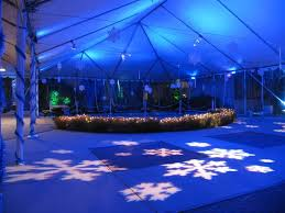 wedding tent lighting ideas. Snowflake Gobos And Blue Lights Would Be Ideal For A Winter Wedding Theme Image From Tent LightingWedding LightingLighting IdeasWedding Lighting Ideas D