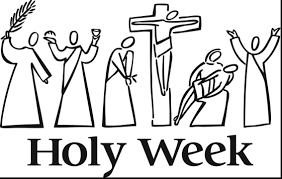 Holy Week Coloring Pages Easter And Mini Book Color Colouring