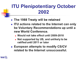 internet organizations a study in political science fred baker  itu plenipotentiary 2002 the 1988 treaty will be retained itu actions related to the internet