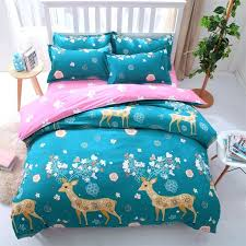duvet covers queen cotton duvet covers twin xl ikea cartoon deer animals 3d printed bedding sets