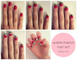 nail art designs easy to do at home for simple nail designs