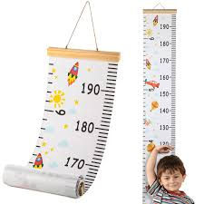 Wall Measuring Chart Details About Hifot Kids Growth Hight Chart Baby Measuring Chart Cartoon Canvas Wall