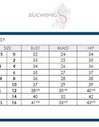 Sue Wong Dress Size Chart Www Bedowntowndaytona Com