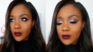 bold makeup tutorial for dark skin i get ready with me talk through 2016
