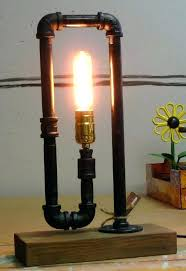 black iron pipe lamp pipe lamp socket lamps design lamp socket plum plumber galvanized pertaining to black iron pipe lamp