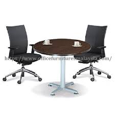 4ft office small discuss round meeting table