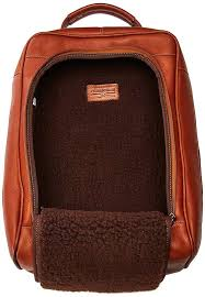 claire chase leather luxury golf shoe bag thumbnail 13