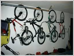 garage bike storage ideas bicycle in hanging bikes 7 diy