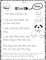 Easy Sight Word Stories To Encourage Thinking Skills Ready To Print