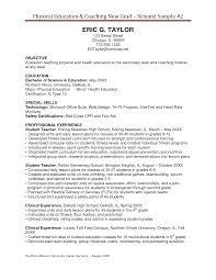 Coaching Resume Examples